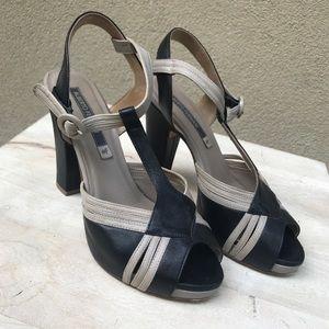 👡 Alberto Fermani Colorblock Heels